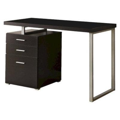 Monarch Specialties Writing Desk: Monarch Hollow Core Left or Right Facing Desk -