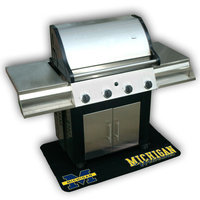 Mr. Bar-b-q Mr. Bar-B-Q Michigan Wolverines Grill Mat