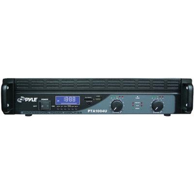 Pyle PTA1004U Amplifier - 1000 W RMS - 2 Channel
