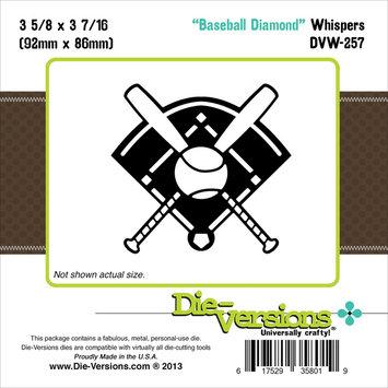World Taste Corporation Die-Versions Die Versions Whispers Die Baseball Diamond