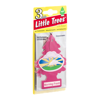 Little Trees Air Fresheners Morning Fresh - 3 CT