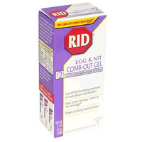 Rid Lice & Egg Comb-out Gel-2 oz.