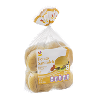 Ahold Potato Sandwich Enriched Rolls - 8 CT