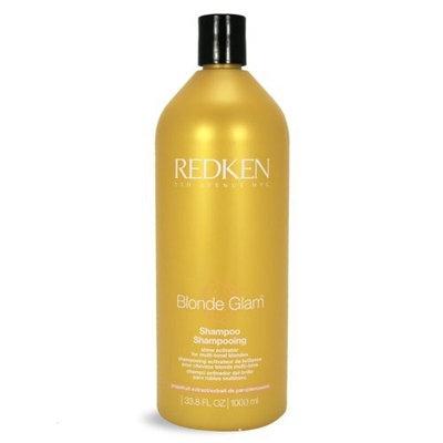 Redken Blonde Glam Shampoo, 33.8oz (1 L)