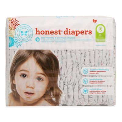The Honest Co. Honest Diapers - Size 5 (27lbs+) - Arrows