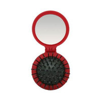 Denman Pop Up Brush Red