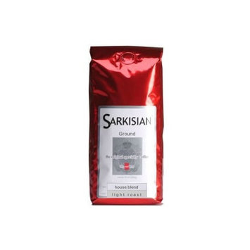 Sarkisian Specialty Coffee Sarkisian Specialty Gourmet Coffee - 12 Oz - Ground House Blend - Light, Mild and Smooth Special Roast - Arabica Beans