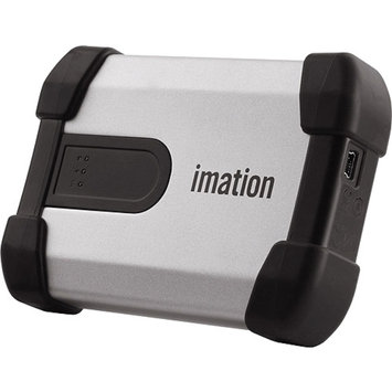 Imation Defender H100 External-Hard drive-320 GB-external ( portable )-USB 2.0-FIPS 140-2 Level 3-TAA-MXCB1B320G4001FIPS