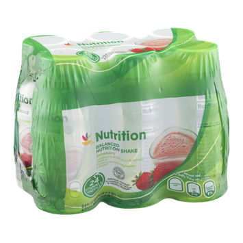 Ahold Nutrition Balanced Nutrition Shake Strawberry