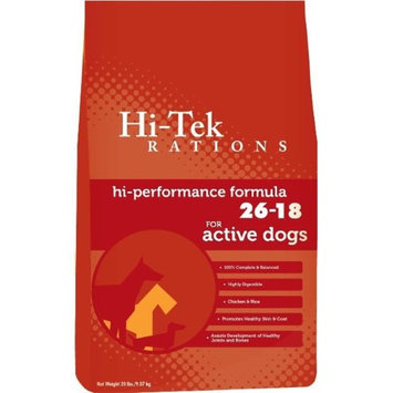 Hi-tek Rations Hi-Tek 26-18-45 Hi-Performance 26-18 Dog Food 45 Pounds