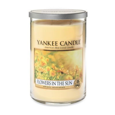 Yankee Candle® Flowers in the Sun 2-Wick Large Tumbler Candle
