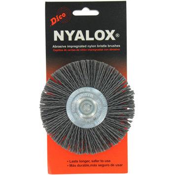 Dico 541-772-4 4-inch Coarse Nyalox Wire Wheel