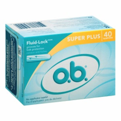 o.b. Tampons, Super Plus, 40 ea