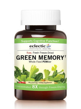 Green Memory 90 Gram by Eclectic Institute Inc