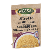 Alessi Risotto all Milanese with Italian Arborio Rice with Saffron