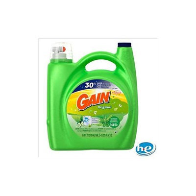 Gain HE Original Liquid Laundry Detergent - 146 loads