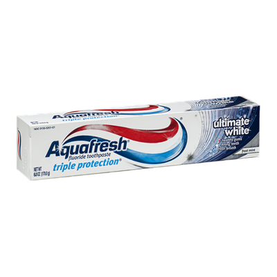 Aquafresh Toothpaste Triple Protection Ultimate White Frost Mint