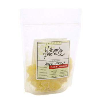 Nature's Promise Naturals Unsulphured Ginger Slices