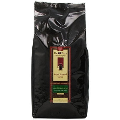 The Bean Coffee Company, California Blend Whole Bean Coffee, Decaffeinated, 5-Pound Bags
