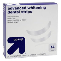 up & up up&up Advanced Whitening Dental Strips - 28 Strips