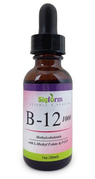 Vitamin B12 1,000 Sigform 1 oz Liquid