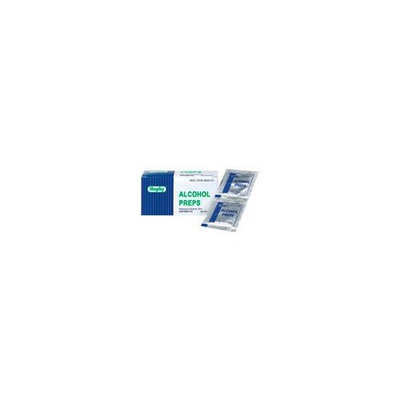 Rugby Laboratories Rugby Antiseptic Alcohol Prep Wipes 100 packets
