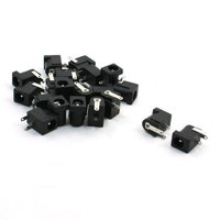 5.5mm x 2.1mm DC Power Supply Miniature Jack Socket 20 Pcs