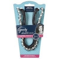 Goody Doublewear Goody Double Wear Tulle-Trimmed Pearls Layered with Multi-strand