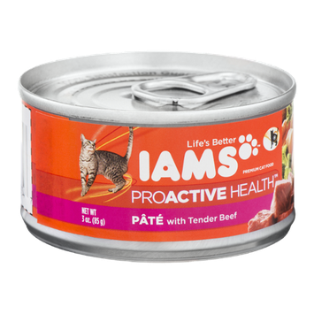 Iams™ Proactive Health Pate With Tender Beef Cat Food