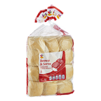Ahold Brown & Serve Enriched White Rolls - 12 CT