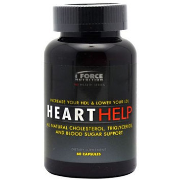 iForce Nutrition Heart Help 60 ct - IFORHEAR00600000CP