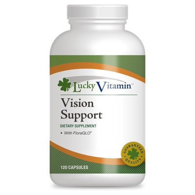 LuckyVitamin - Vision Support - 120 Capsules