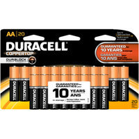 Duracell Coppertop Alkaline Batteries