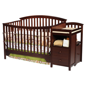 Delta Enterprise Corp Delta Childrens Sonoma Crib N Changer-Espresso - DELTA ENTERPRISE CORP.
