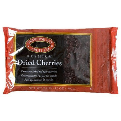 Traverse Bay Confections Traverse Bay Fruit Co. Dried Cherries, 2-Pound Bags (Pack of 2)
