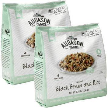 Augason Farms Black Beans and Rice, 8.34 oz