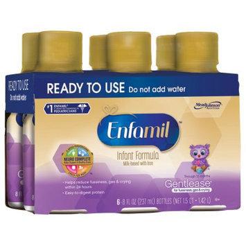 Enfamil Gentlease Ready to Use 8 oz Bottles