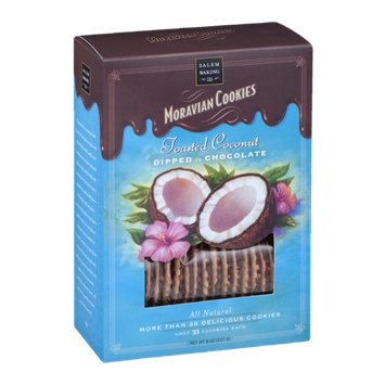 Salem Baking Co. Moravian Cookies Toasted Coconut
