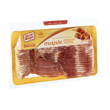 Oscar Mayer Naturally Hardwood Smoked Maple Flavor Bacon