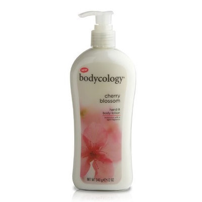 Bodycology Hand and Body Lotion, Cherry Blossom, 12-Ounce (Pack of 2)