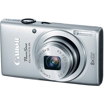 Canon PowerShot ELPH 115 IS16MP Digital Camera (Silver)