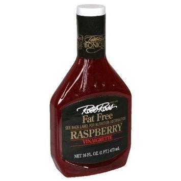 Robb Ross Fat Free Raspberry Vinaigrette, 16-Ounce (Pack of 6)