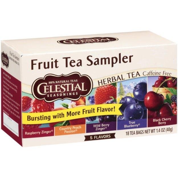 Celestial Seasonings Fruit Sampler Herb Teas