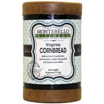 Montebello Kitchens Virginia Cornbread Mix, 6-Ounce (Pack of 3)