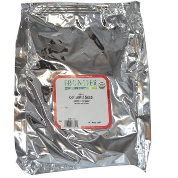 Frontier Natural - Coriander Seed - Whole, 1 lbs