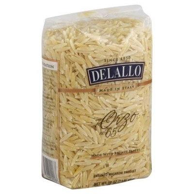 Delallo, Pasta Bag Orzo, 16 OZ (Pack of 16)