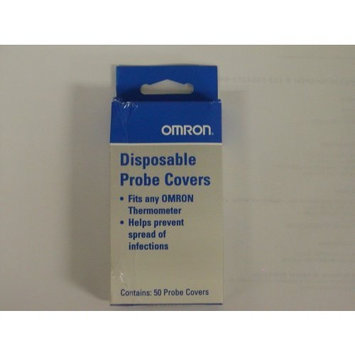 Omron Digital Thermometer Probe Covers for All Pencil Style Box Of 50 - Omron 0007PROB