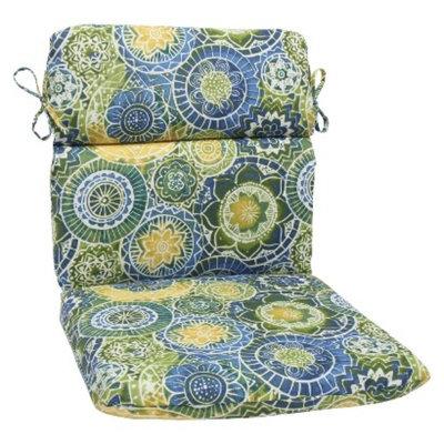 Pillow Perfect Outdoor Round Edge Chair Cushion - Omnia