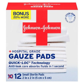 Johnson & Johnson Hospital Grade Gauze Pads