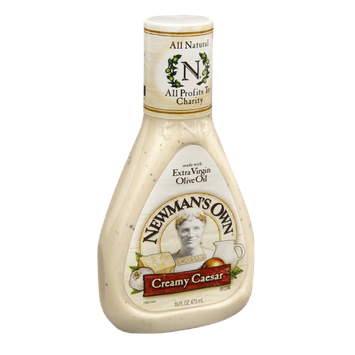 Newman's Own All Natural Creamy Caesar Dressing